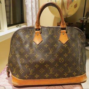 Louis Vuitton Alma Monogram Purse Bag LV